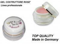 GEL UV COSTRUTTORE - BUILDER PROFESSIONAL LINE ROSE' 15 ML