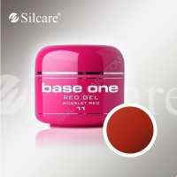 SILCARE BASE ONE GEL COLOR UNGHIE 11 RED SCARLET