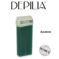 CERA DEPILATORIA LIPOSOLUBILE AZULENE RULLO DA 100 ML