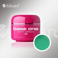 SILCARE BASE ONE GEL COLOR UNGHIE 22 MINT GREEN
