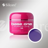 SILCARE BASE ONE GEL COLOR UNGHIE 58 PURPLE LOVE