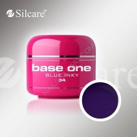 SILCARE BASE ONE GEL COLOR UNGHIE 34 BLUE INKY