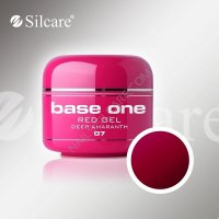 SILCARE BASE ONE GEL COLOR UNGHIE 07 RED DEEP AMARANTO