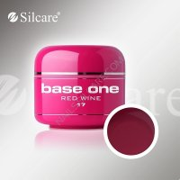 SILCARE BASE ONE GEL COLOR UNGHIE 17 RED WINE