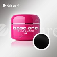 SILCARE BASE ONE GEL COLOR UNGHIE 37 BLACK JACK