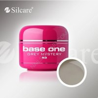 SILCARE BASE ONE GEL COLOR UNGHIE 53 GREY MISTERY