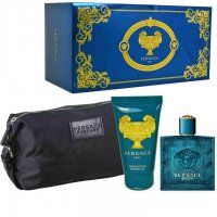 COFANETTO VERSACE EROS 100ml EDT+1 DOCCIA GEL 100ml+ BEAUTY
