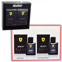 COFANETTO FERRARI SISGNATURE 75ml EDT + LOTION AFTER SHAVE 75ml