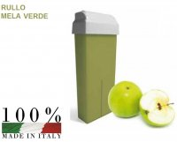 CERA DEPILATORIA LIPOSOLUBILE MELA VERDE RULLO DA 100 ML
