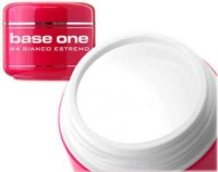 BASE ONE SILCARE GEL FRENCH BIANCO ESTREMO DA 5 ML