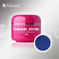 SILCARE BASE ONE GEL COLOR UNGHIE 29 NIGHT BLUE