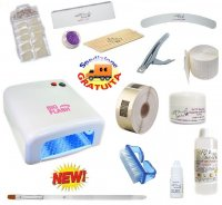 KIT RICOSTRUZIONE UNGHIE NAILS GEL BASIC NEW