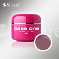 SILCARE BASE ONE GEL COLOR UNGHIE 66 RIPE PLUM