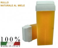 CERA DEPILATORIA LIPOSOLUBILE MIELE RULLO DA 100 ML