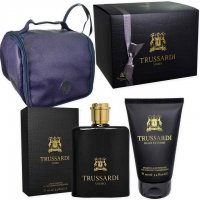 COFANETTO TRUSSARDI 100ml EDT+1 DOCCIA GEL 100ml+ BEAUTY