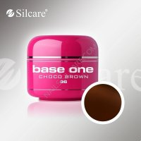 SILCARE BASE ONE GEL COLOR UNGHIE 36 CHOCO BROWN