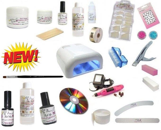ricostruzione unghie gel prodotti