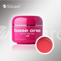 SILCARE BASE ONE GEL COLOR UNGHIE 08 RED ROSE