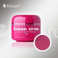 SILCARE BASE ONE GEL COLOR UNGHIE 14 SUNSET RED