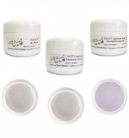 KIT 3 GEL UV *BASE-RICO-T -SIGILLANTE* DA 30 ML