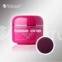SILCARE BASE ONE GEL COLOR UNGHIE 01 RED SANGRIA