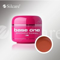 SILCARE BASE ONE GEL COLOR UNGHIE 06 SMOKED CORAL