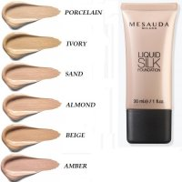 FONDOTINTA FLUIDO OPACIZZANTE LIQUID SILK MAKE-UP MESAUDA