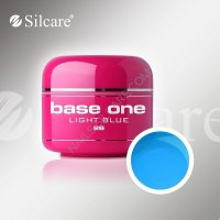 SILCARE BASE ONE GEL COLOR UNGHIE 26 LIGHT BLUE
