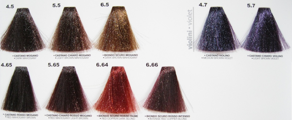 Colore Tintura In Crema Per Capelli Proteo Line Ptl 252